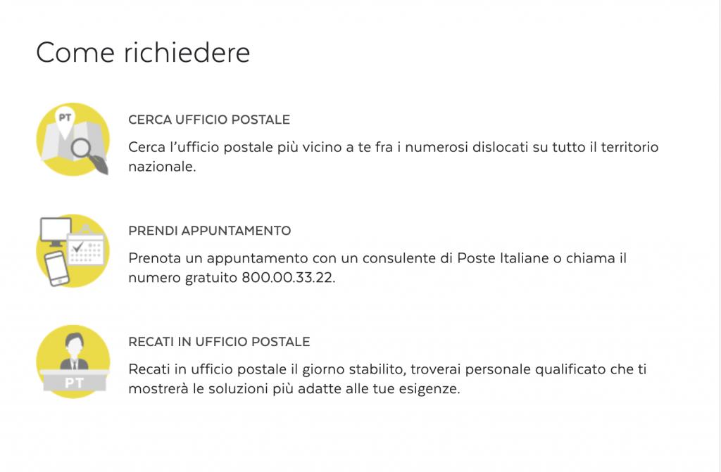 cessione del quinto poste italiane